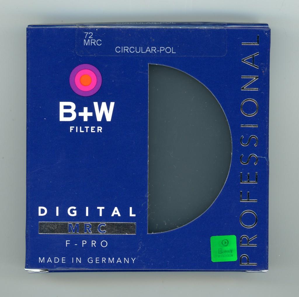 B+W F-Pro S03 Polarizing filter circular MRC