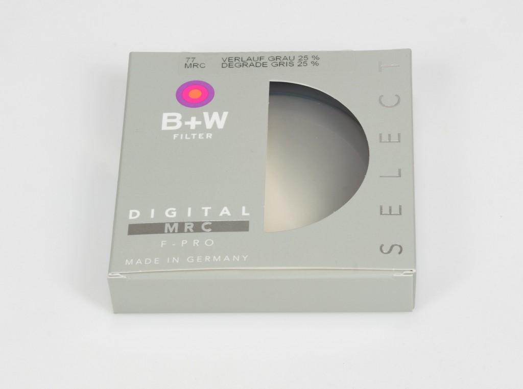 B+W 702 Graduated ND Filter 25 %