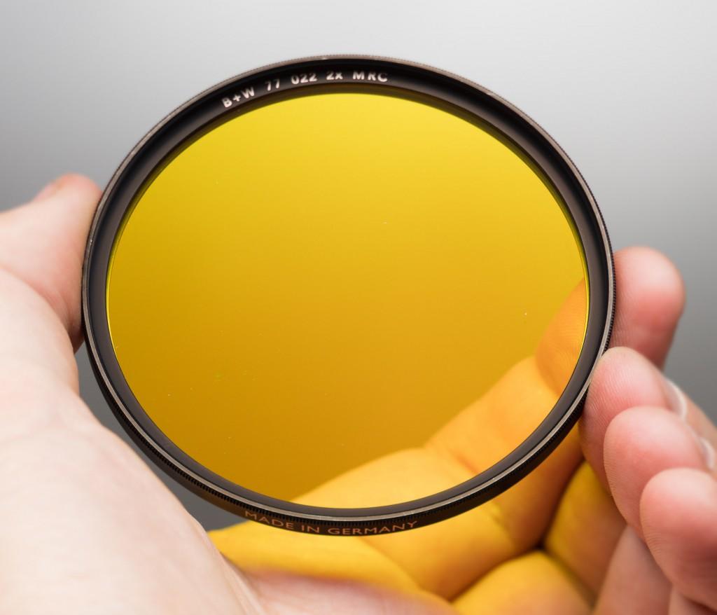Medium Yellow Filter 022 (Жёлтый фильтр средней плотности)