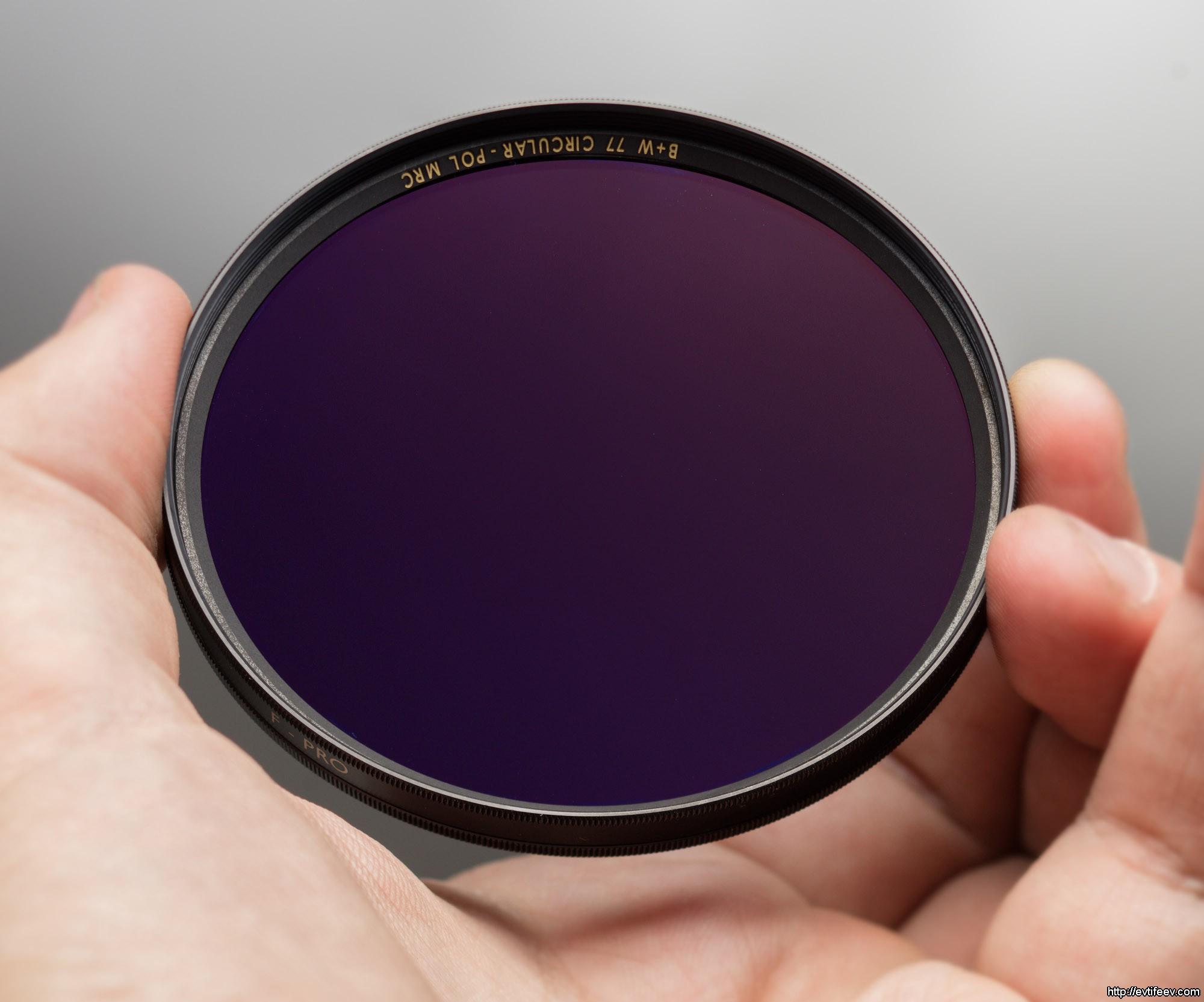 Светофильтр B+W XS-Pro Kaesemann High Transmission Circular Polarizer MRC Nano 77mm (1081478)
