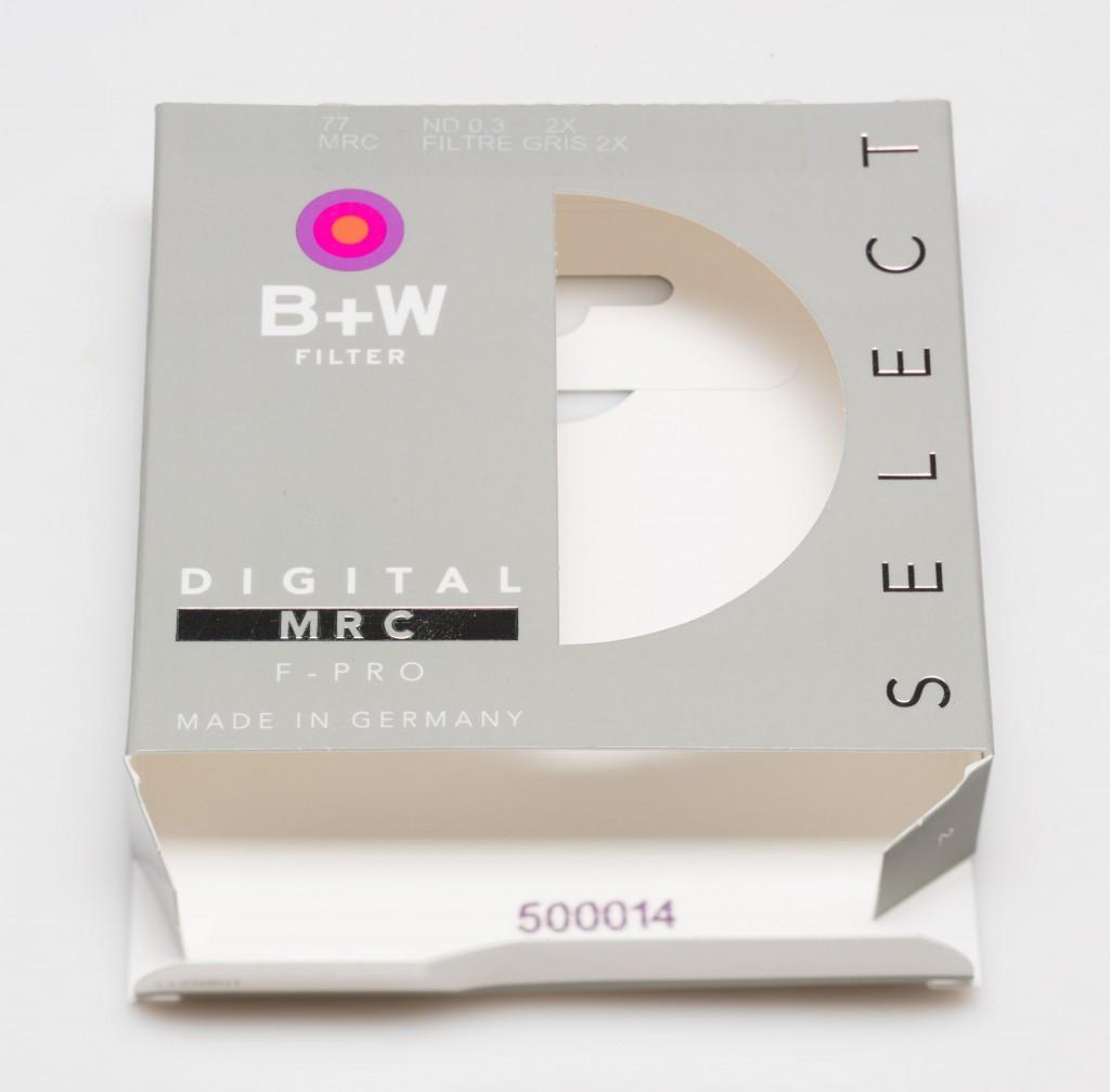 B+W F-Pro 110 Grey ND 3.0 MRC