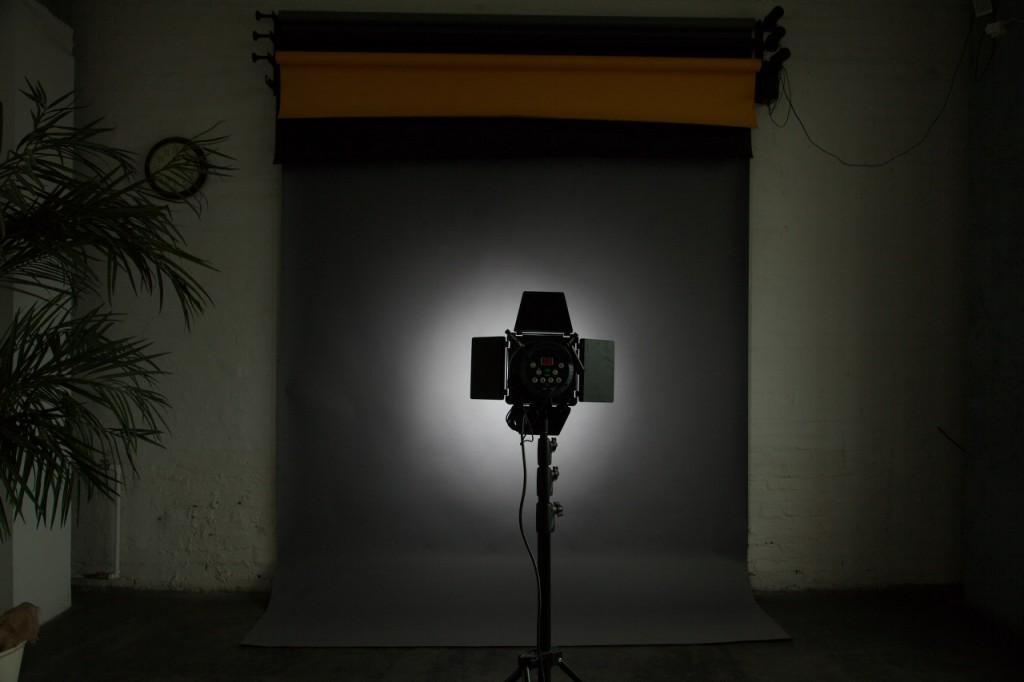 стандартный рефлектор с сотами, расстояние до фона 2.5м
