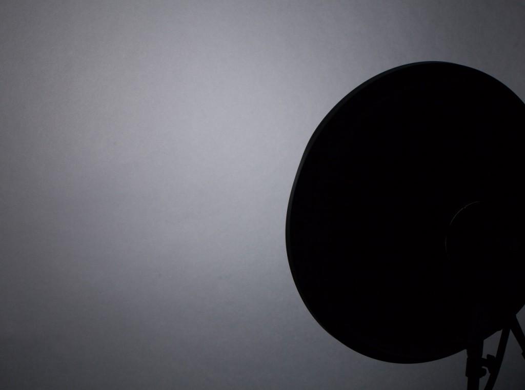 характер освещения портретной тарелкой