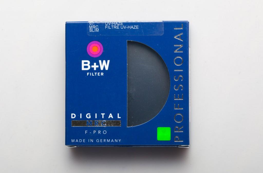 Как выглядит светофильтр B+W SLIM