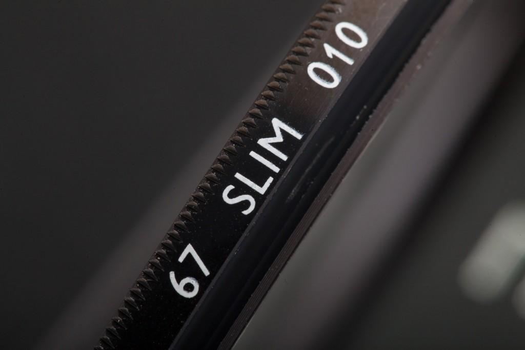 Как выглядит настоящий светофильтр B+W SLIM