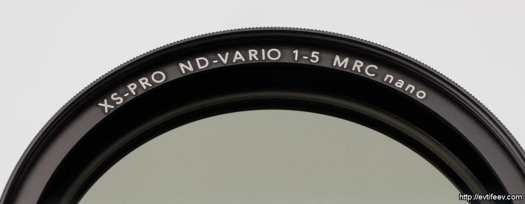 B+W XS-Pro ND-Vario 1-5 nano