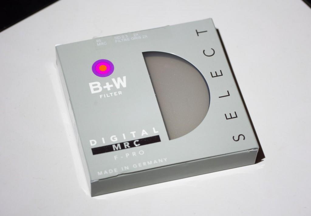 Как выглядят новые упаковки фильтров B+W серии SELECT
