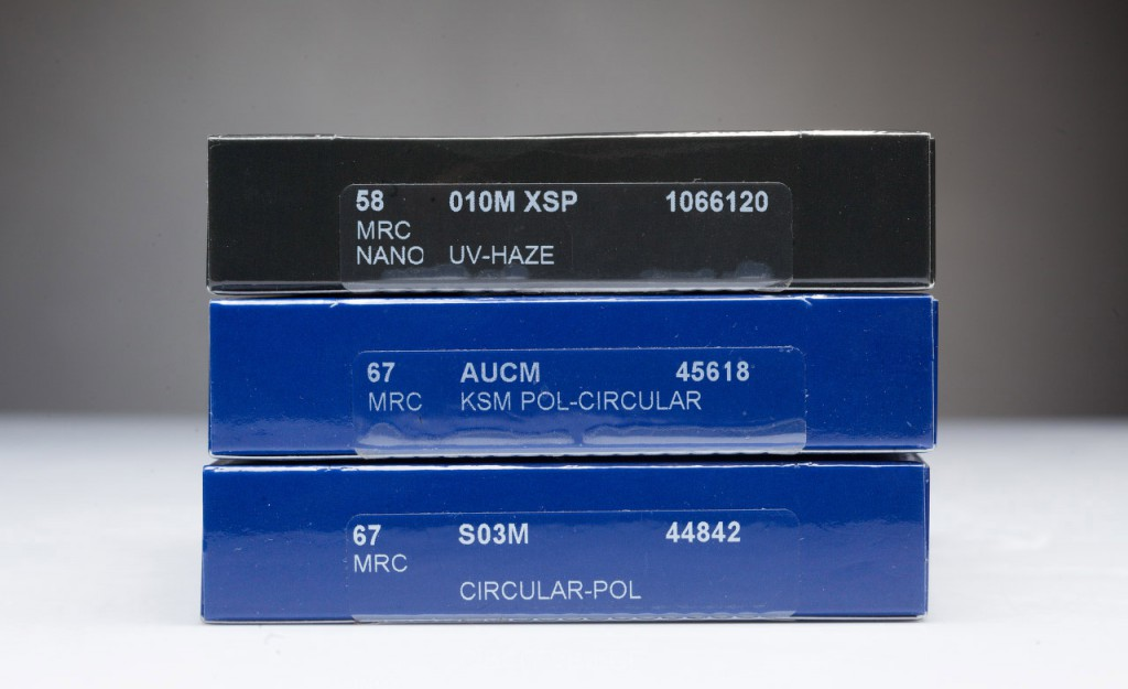 Тестирование поляризационных светофильтров: B+W Circular-Pol S03M MRC vs B+W Pol-Circular AUCM KSM MRC vs Marumi DHG SUPER CIRCULAR P.L.D.