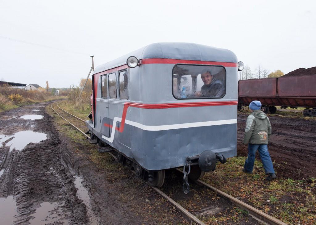Поездка на Тёсовскую узкоколейную ЖД