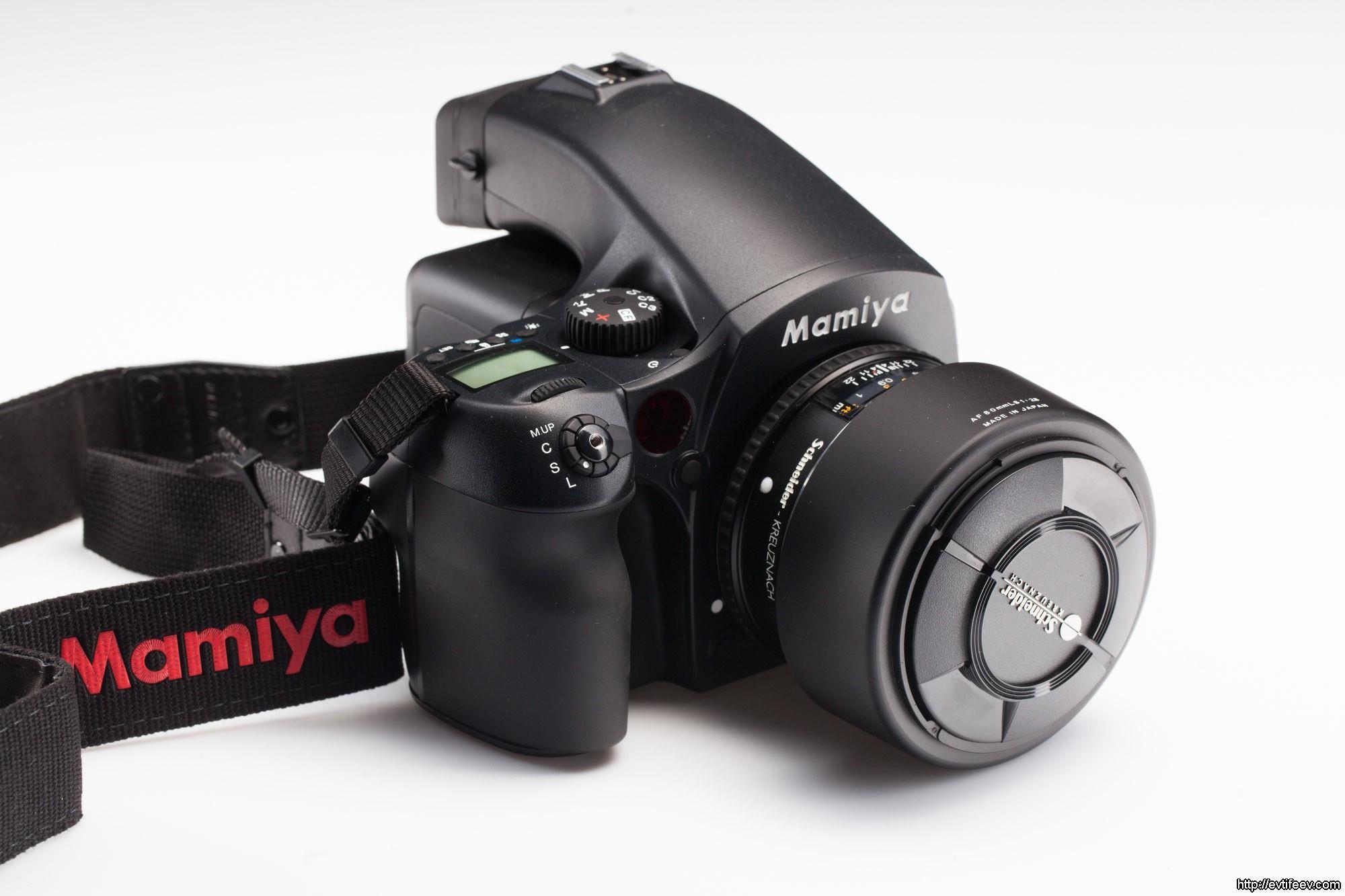 Обзор среднеформатной камеры Mamiya DF+ с цифровым задником Leaf Credo 40