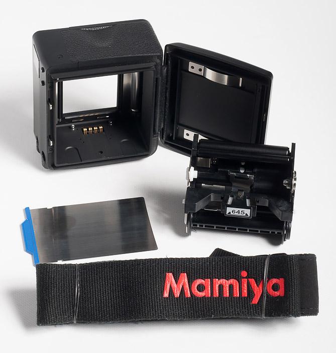 Отличия камер Mamiya 645