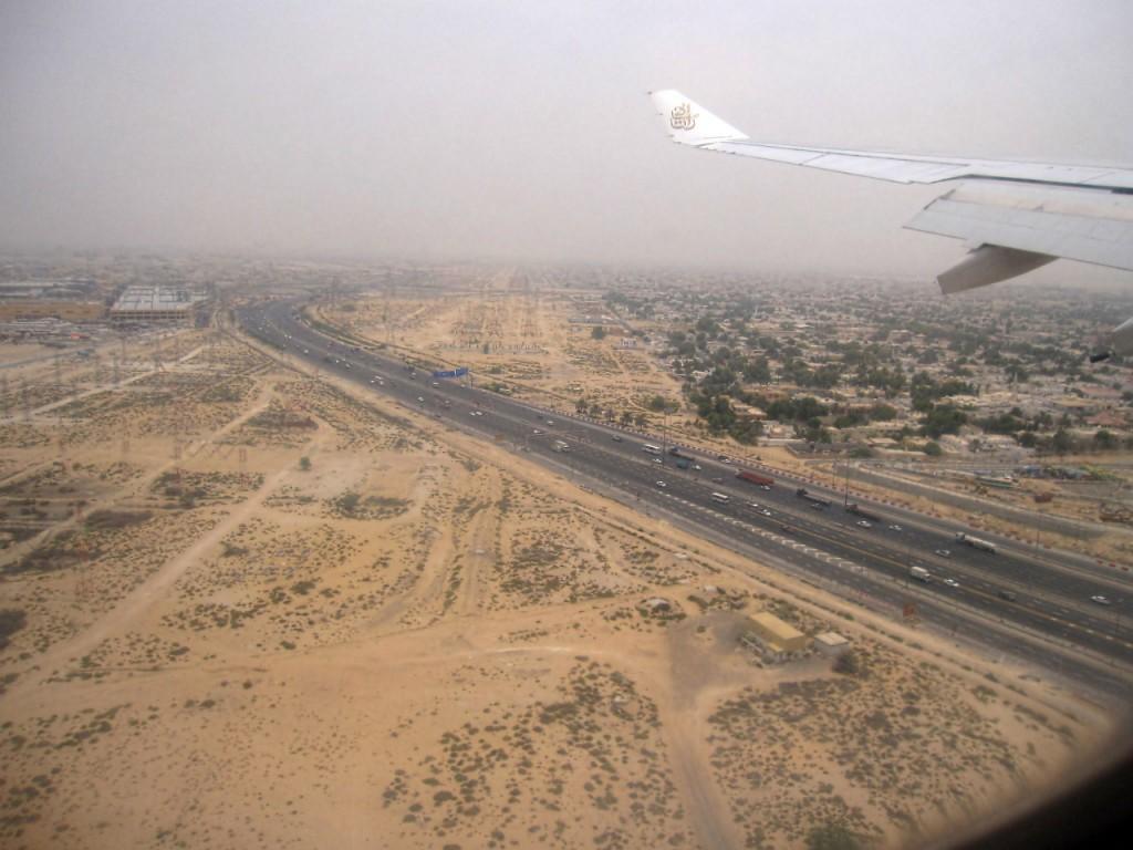 Фотосъемка через иллюминатор самолёта