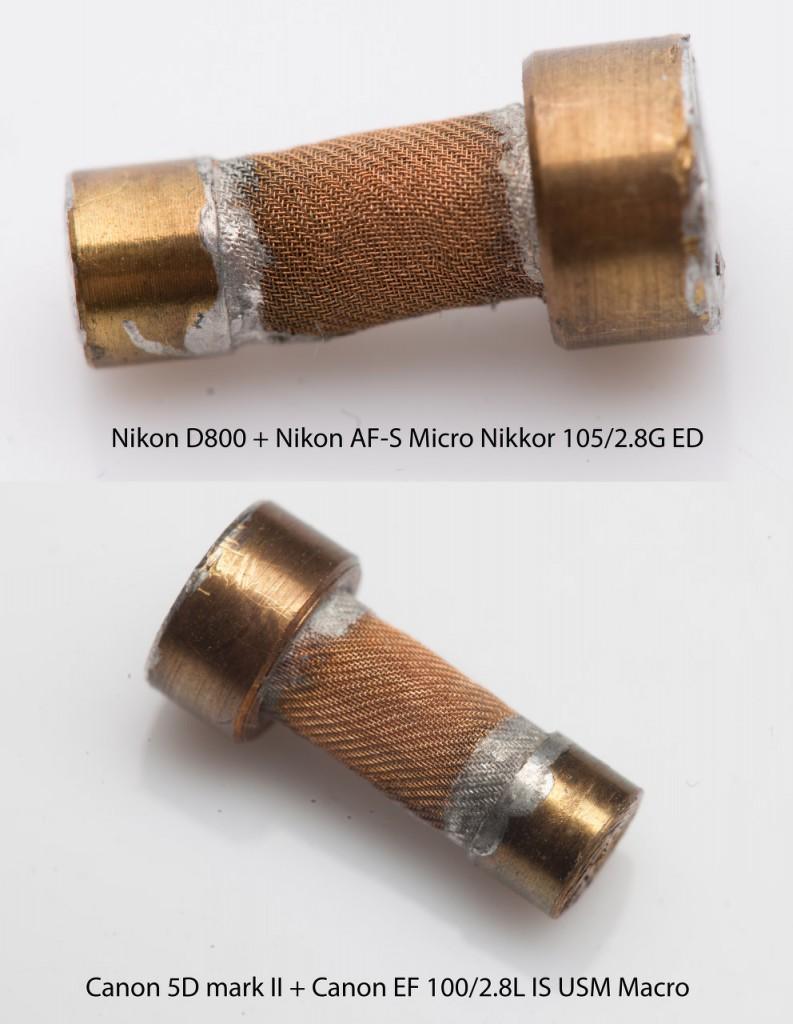 Canon EF 100/2.8L IS USM Macro vs Nikon AF-S Micro Nikkor 105/2.8G ED