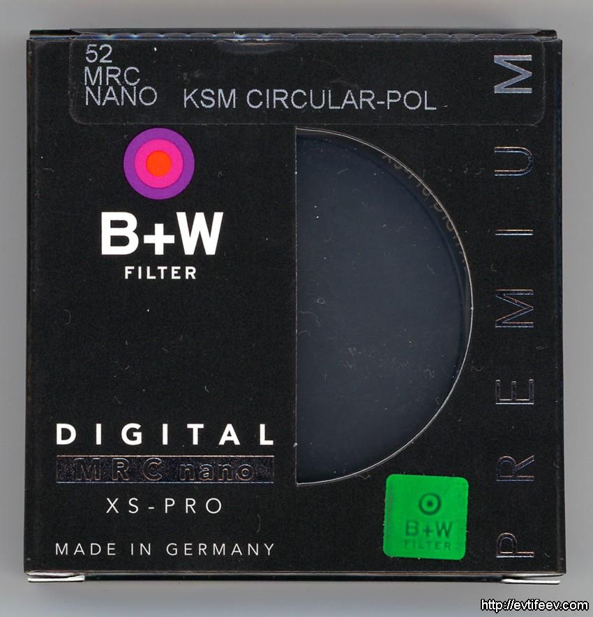 Как отличить настоящий фильтр B+W от подделки