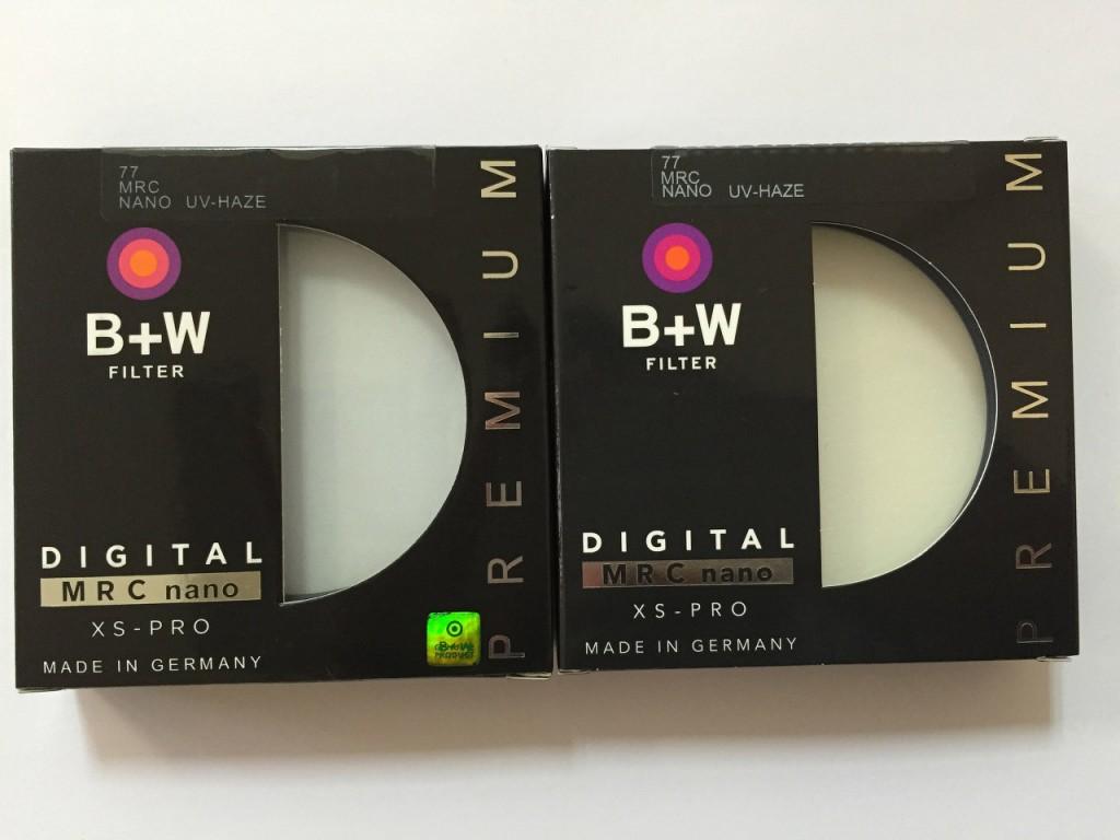 Как отличить поддельный фильтр B+W