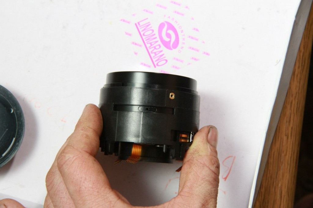 Как разобрать объектив CANON EF-50mm f / 1.4