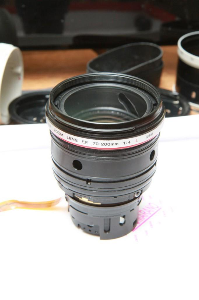 Сборка объектива Canon EF 70-200mm f/4L USM