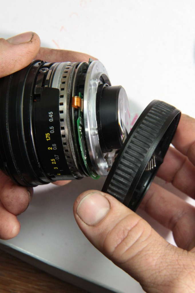 Объектив Nikon AF-S Nikkor 50mm f/1.4G — ремонт автофокуса
