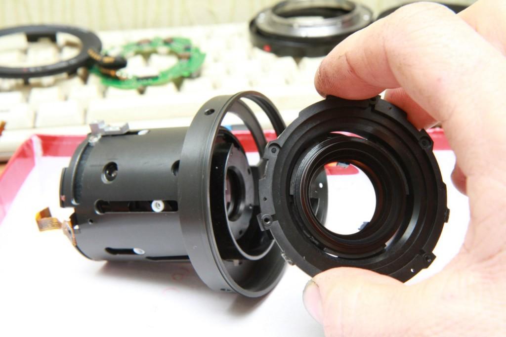 Как разобрать объектив Canon EF 17-40/4L