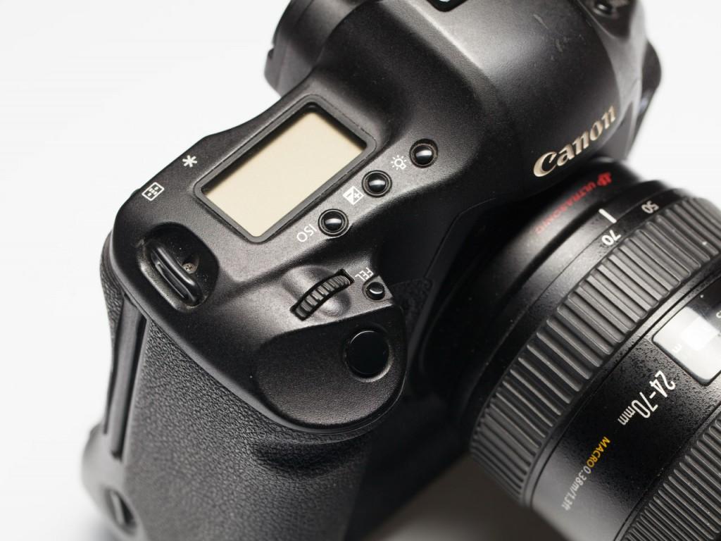 Как должна выглядеть хорошая камера: Canon 1D mark III