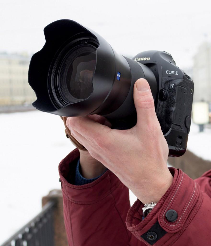 Как должна выглядеть хорошая камера Canon 1D mark IV