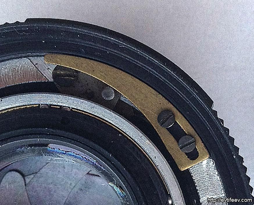 Ремонт диафрагмы на Гелиос 81М 53/2 MC