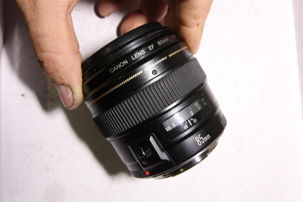 Разборка Canon 85/1.8 USM