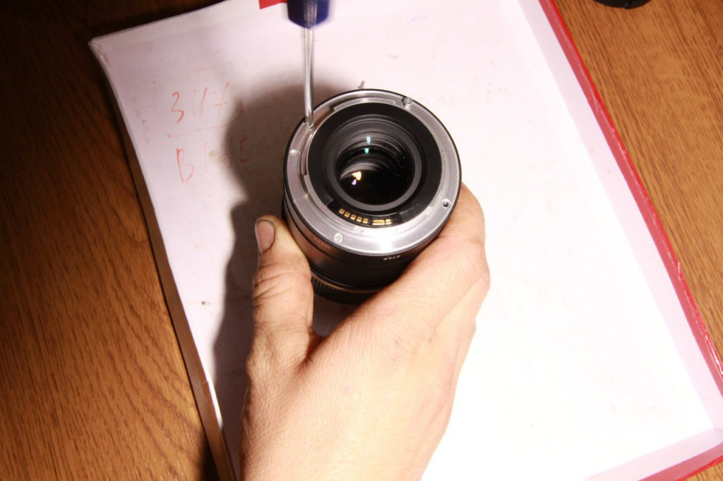 Разборка объектива Tamron SP 90/2.8
