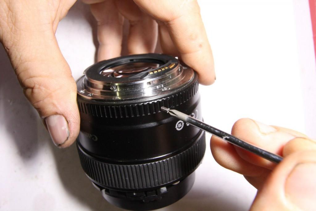 Разобрать Canon 85/1.8 USM