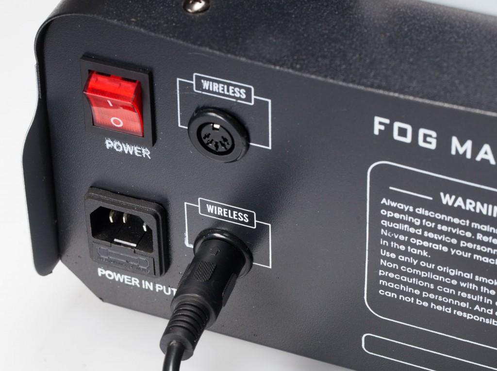 Обзор генератора тумана / дыма Falcon Eyes F-1200R