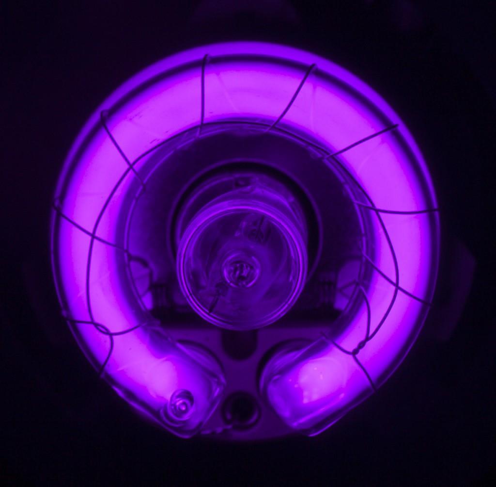 Модификация вспышки для съемки в ультрафиолетовом спектре