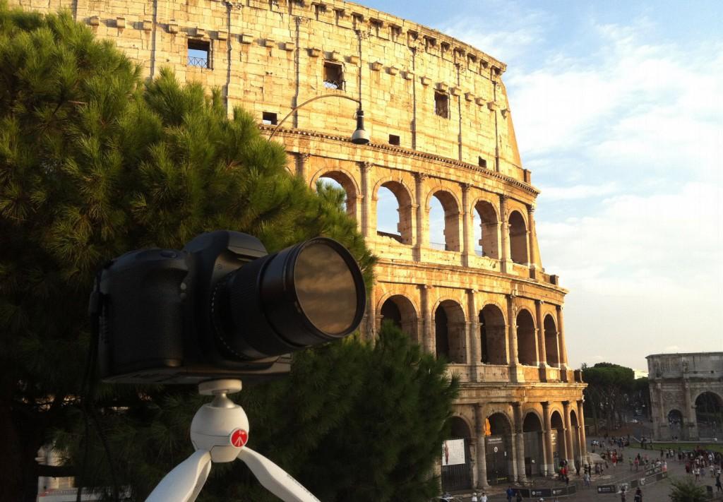Поездка в Рим, Италия