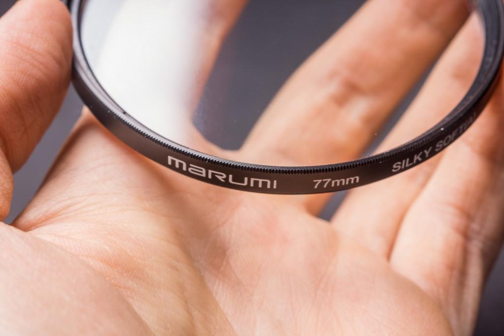"""Marumi предлагает простое """"мутное"""" стекло."""