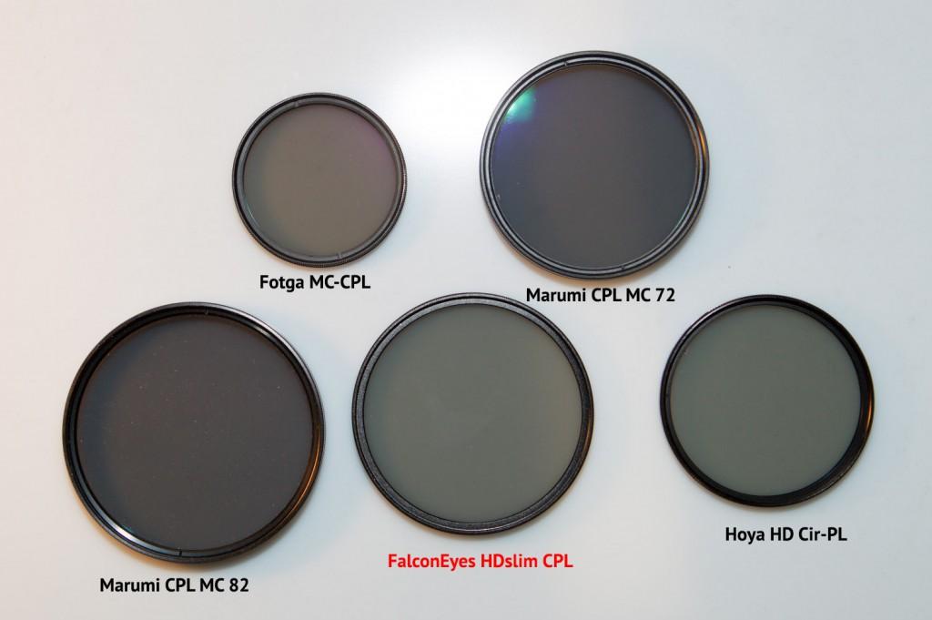 Обзор новой линейки светофильтров FalconEyes HDslim. Циркулярный поляризационный и защитный ультрафиолетовый.