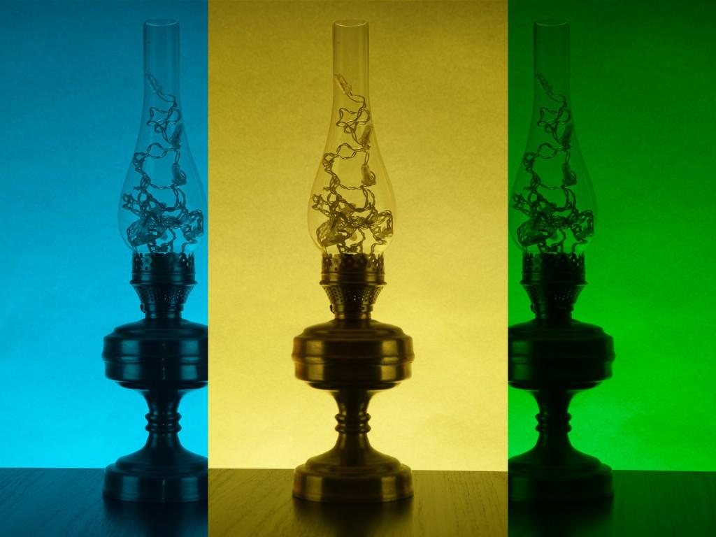 Синий свет + Желтый фильтр = Зеленый кадр