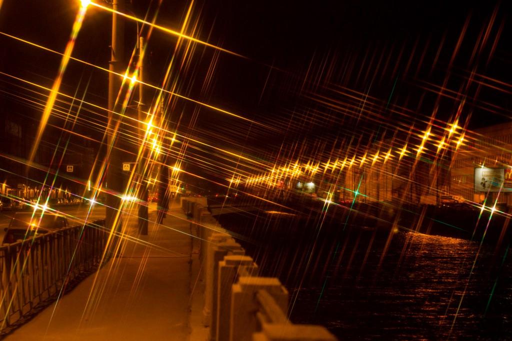 Творческий вечер с эффектными светофильтрами (ч.2, фильтры со звездным эффектом)