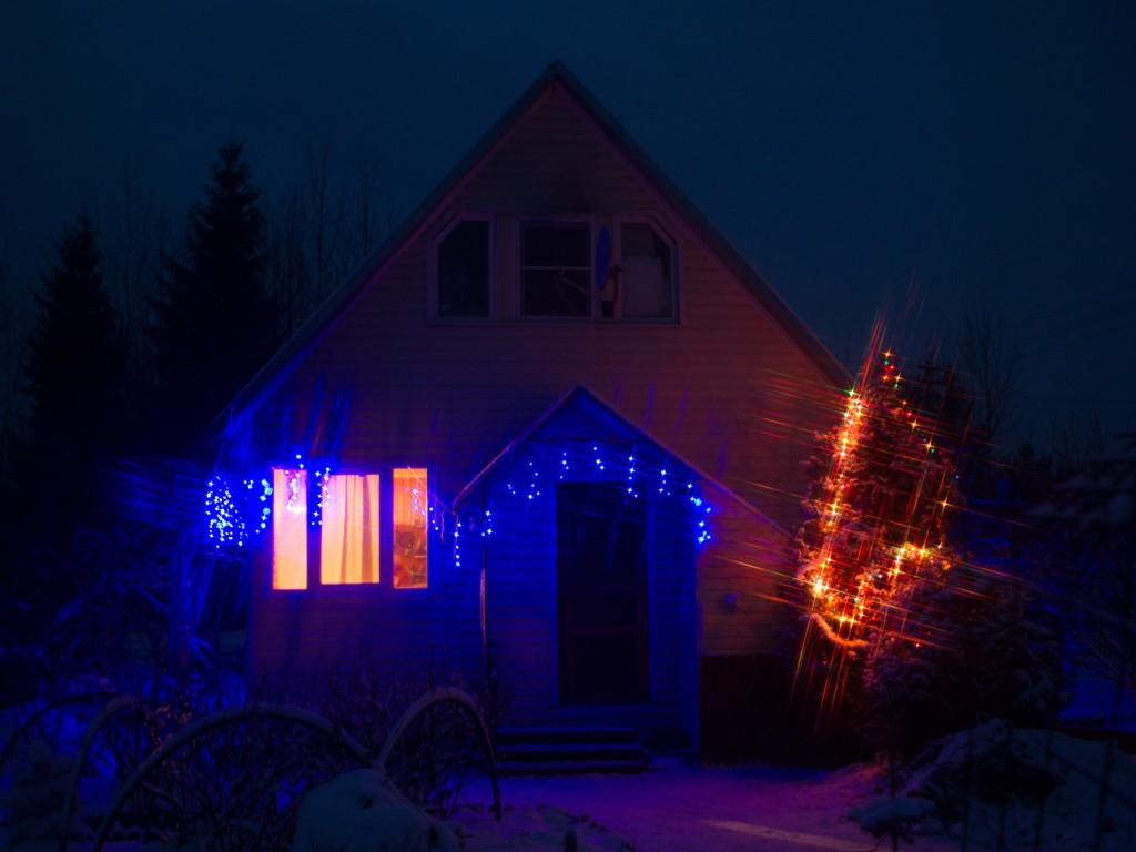 Творческий вечер с эффектными светофильтрами (ч.2, звёздчатые фильтры)