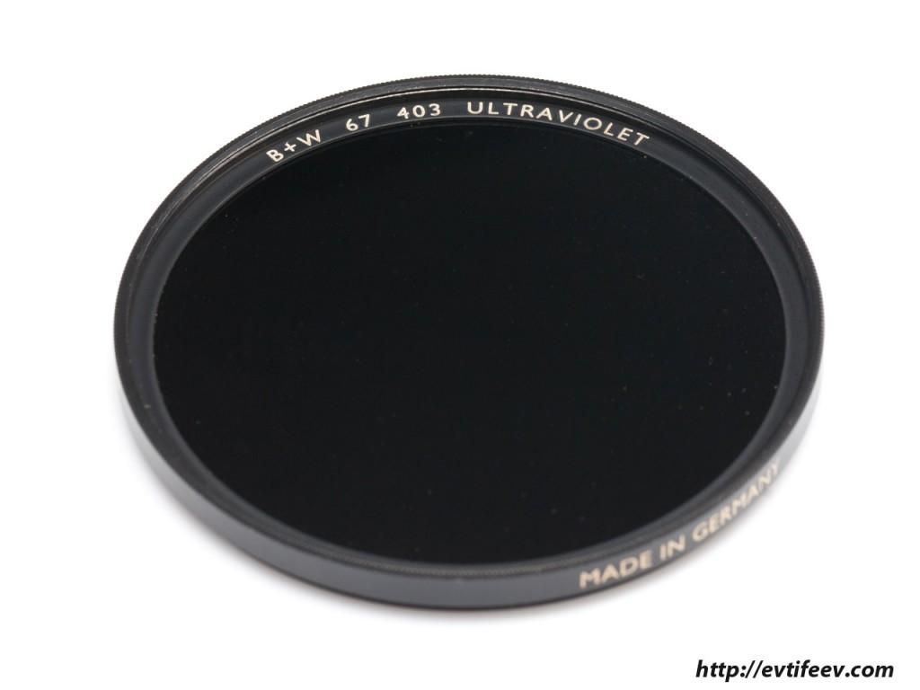 UV Black Filter 403