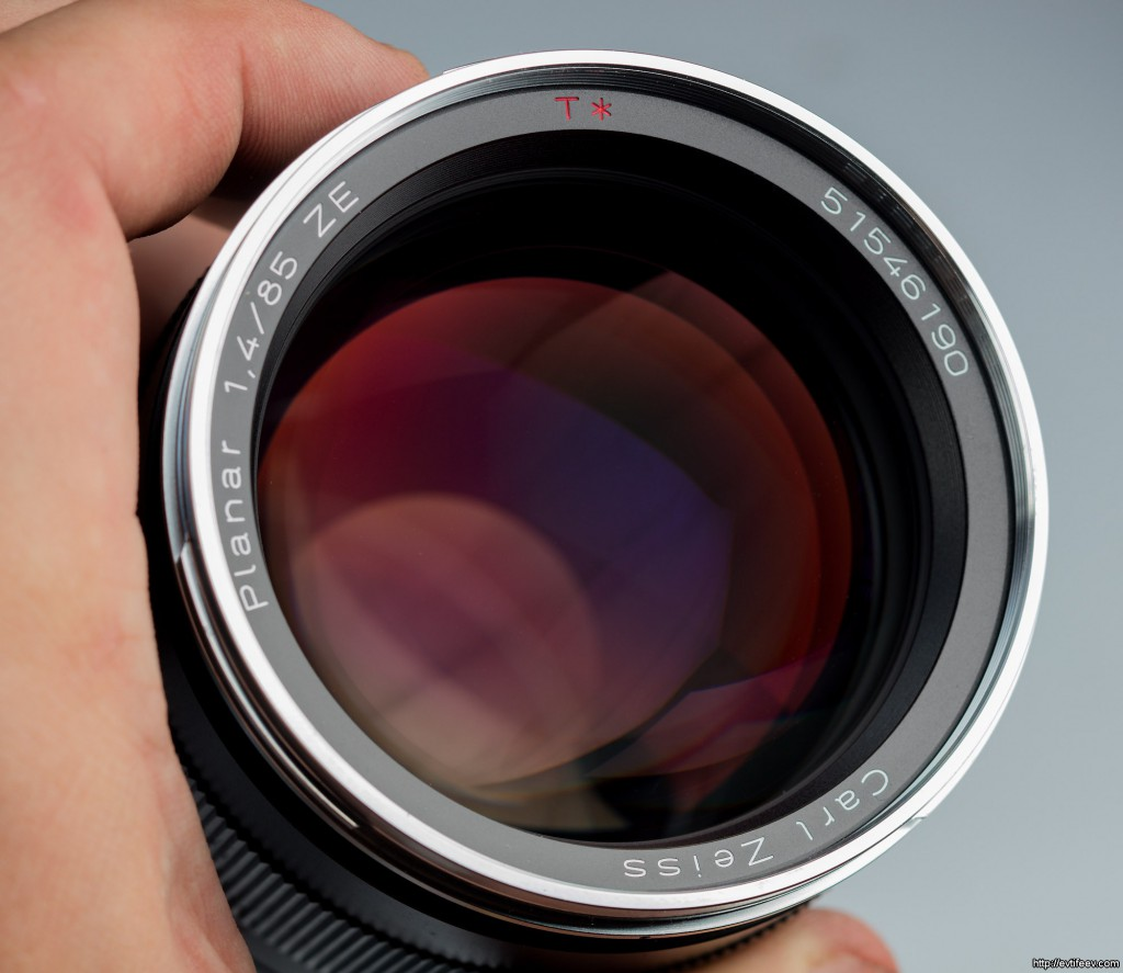 Carl Zeiss Planar T✻ 85mm ƒ/1.4