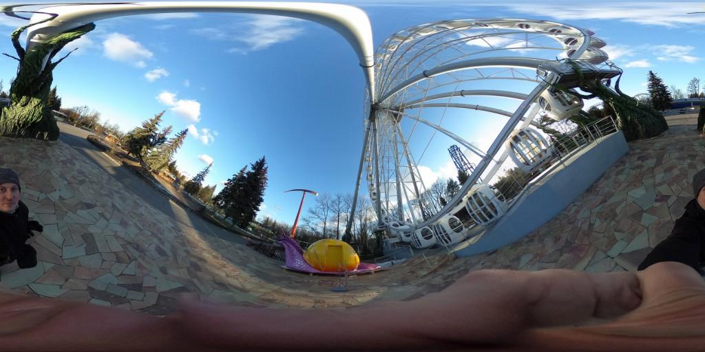Ricoh Theta S - камера для сферического фото и видео