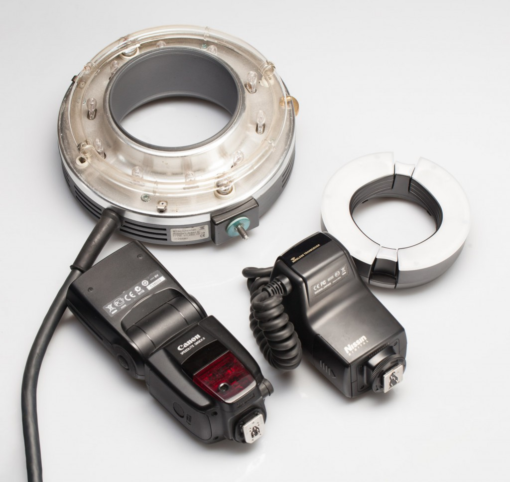Обзор вспышки для макросъемки Nissin MF18 Macro