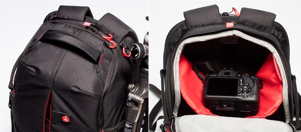Обзор фоторюкзака Manfrotto Pro Light RedBee-210, сравнение с двумя (KATA) и Manfrotto Pro Light Bug-203