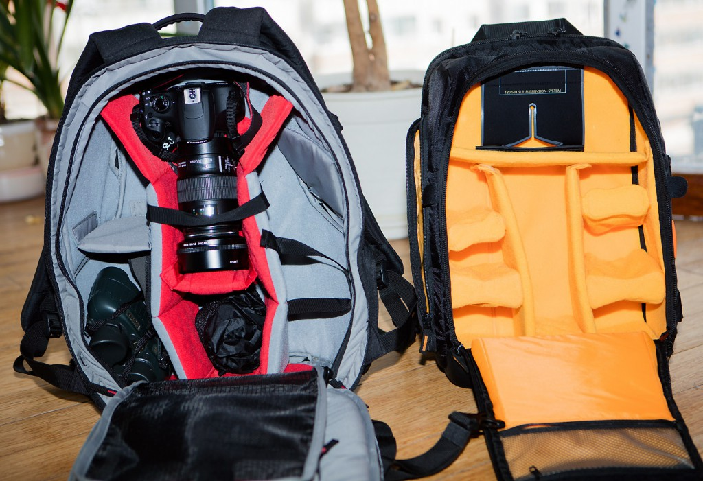 Manfrotto Pro Light RedBee-210 vs Case Logic SLRC-206