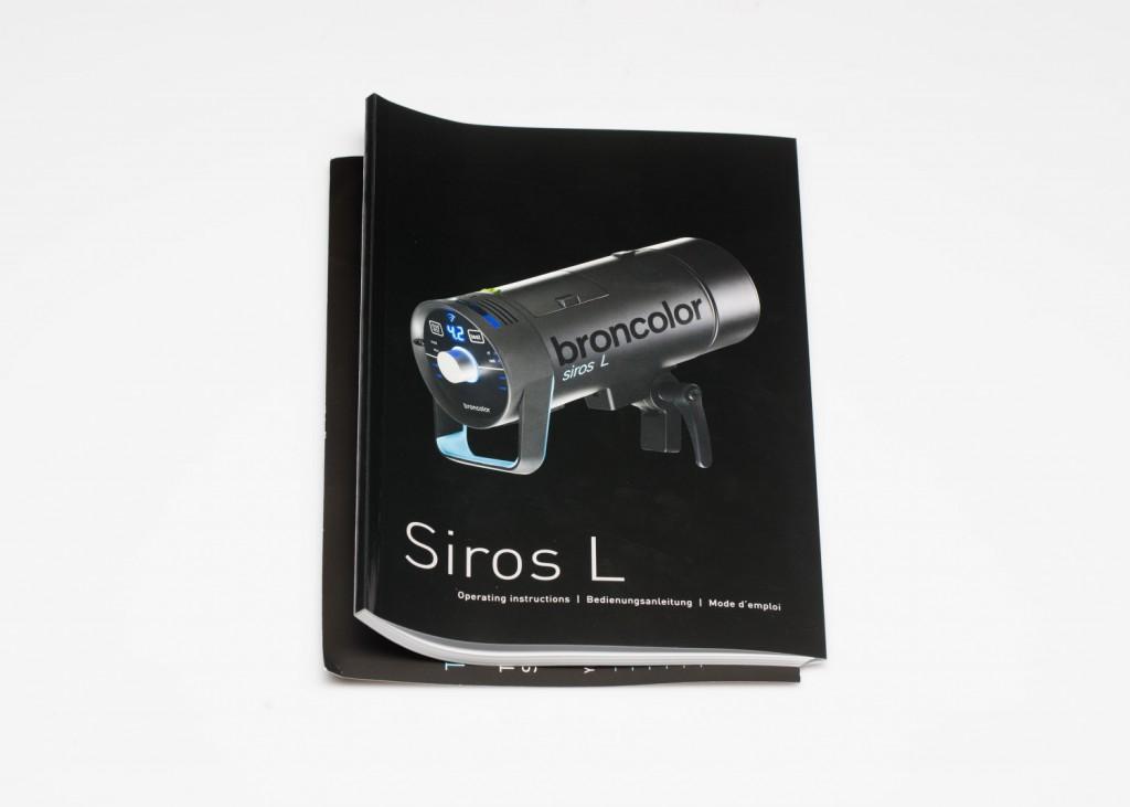 Обзор аккумуляторного моноблока Broncolor Siros L 800