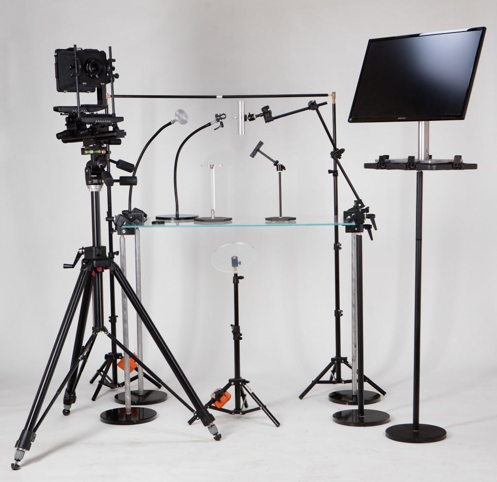 Новые изделия OnE: стол для предметной фотосъемки