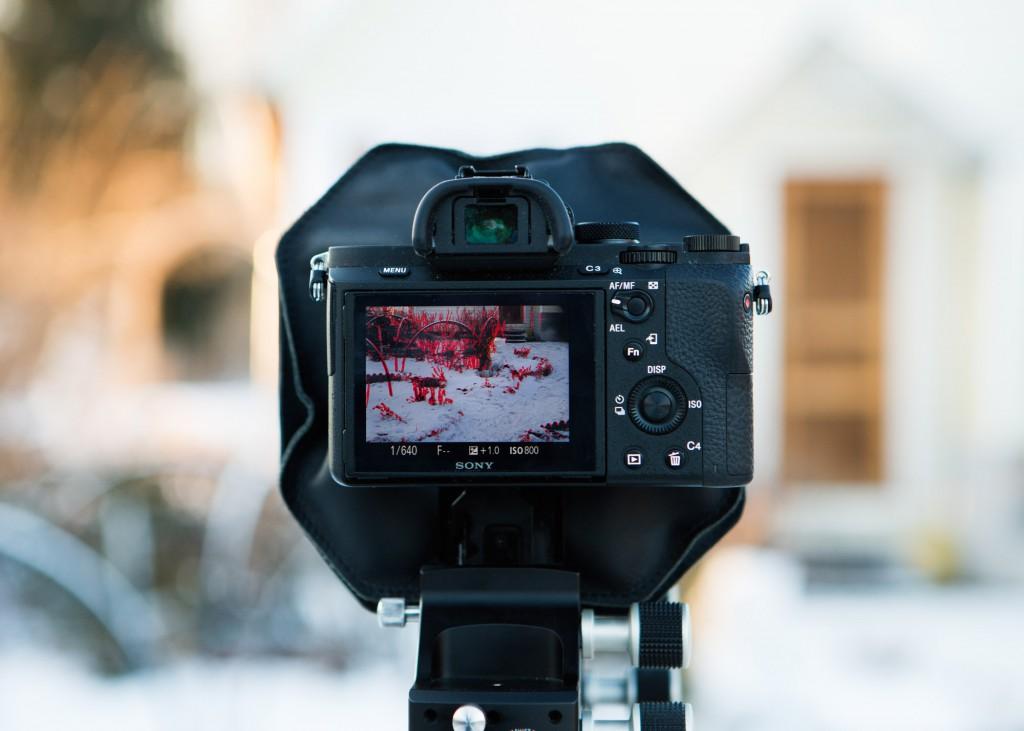 Карданные камеры и введение в большой формат