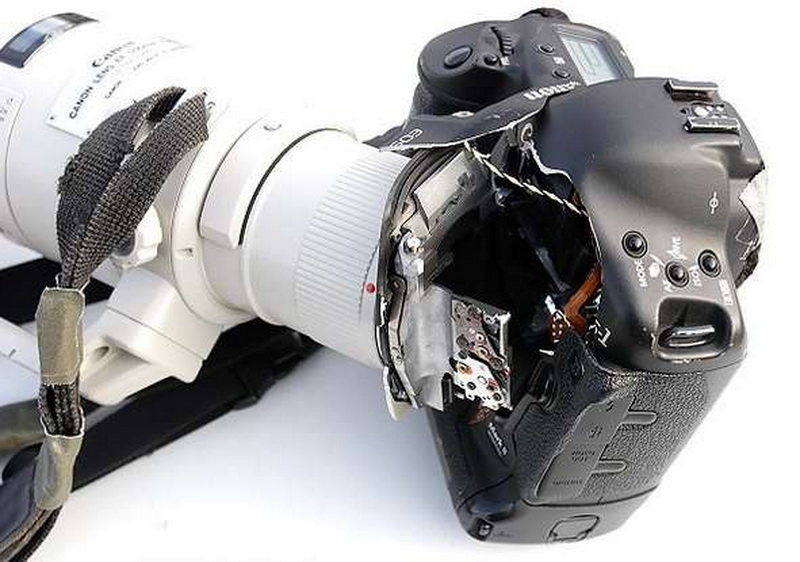 Крепление больших фотообъективов