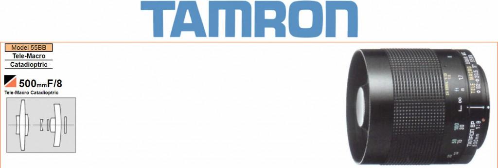 Tamron Mirror lenses