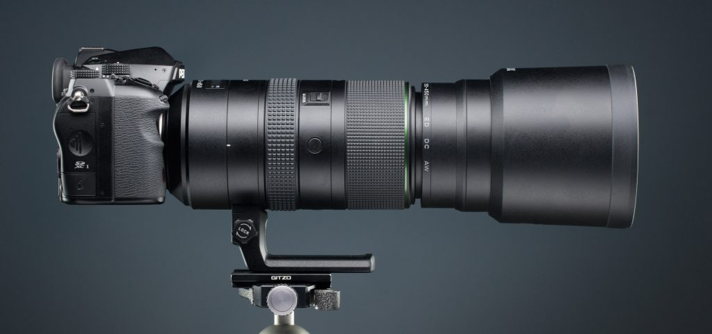 Обзор объектива HD PENTAX-D FA 150-450mmF4.5-5.6ED DC AW