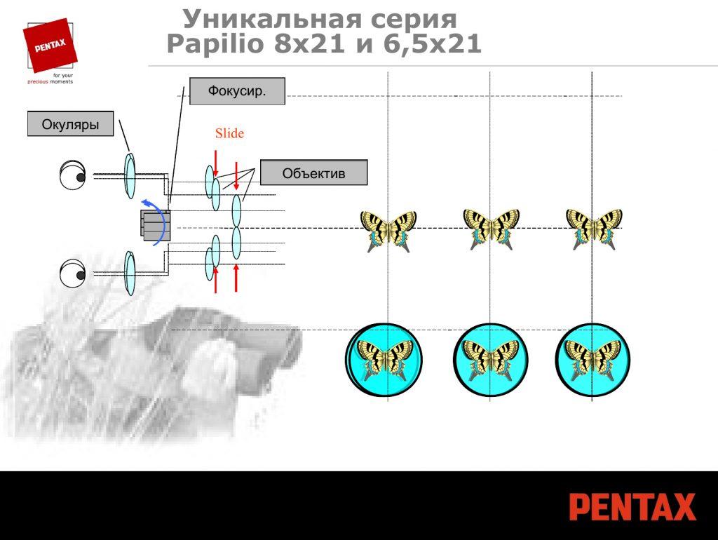 Обзор бинокля PENTAX Papilio II 8.5x21